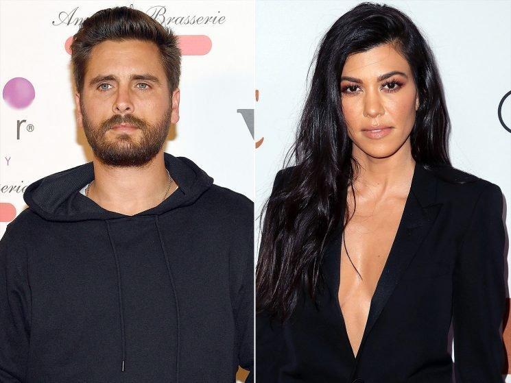 Kourtney Kardashian & Scott Disick Fly with Their Kids to N.Y.C.: She's 'Happy' with Him, Says Source