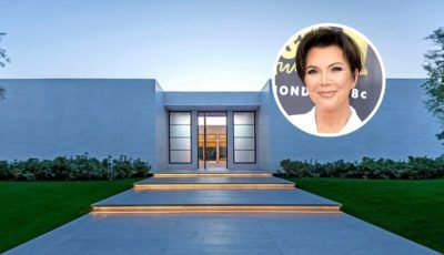 Kris Jenner Picks Up Ultra-Modern Desert Mansion