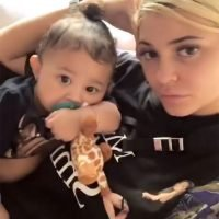 Kylie Jenner Says Daughter Stormi Is 'Mad at Me' for Waking Her Up— See the Adorable Posts