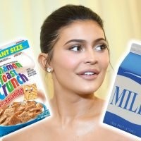 Kylie Jenner just tried cereal with milk for the first time