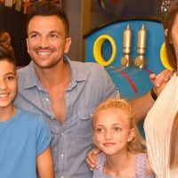"""Peter Andre wants to protect his children Junior and Princess from """"negativity"""""""