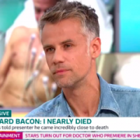 Richard Bacon says doctors thought he was going to die from lung infection