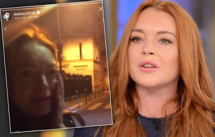 Lindsay Lohan Gets Punched In The Face After Accusing Woman Of Trafficking Kids