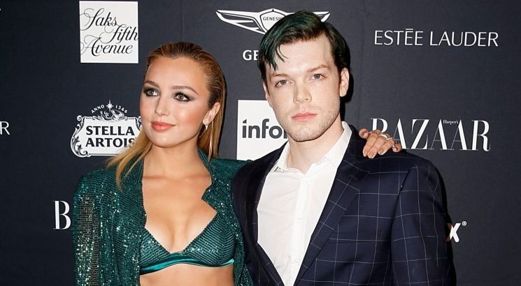 Cameron Monaghan Matches His Hair to Peyton List's Outfit at Harper's Bazaar Icons Party!