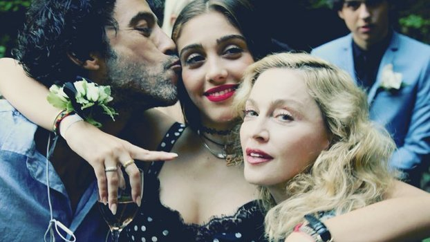 Madonna's Daughter Just Made Her NYFW Debut In a Seashell Bikini Top