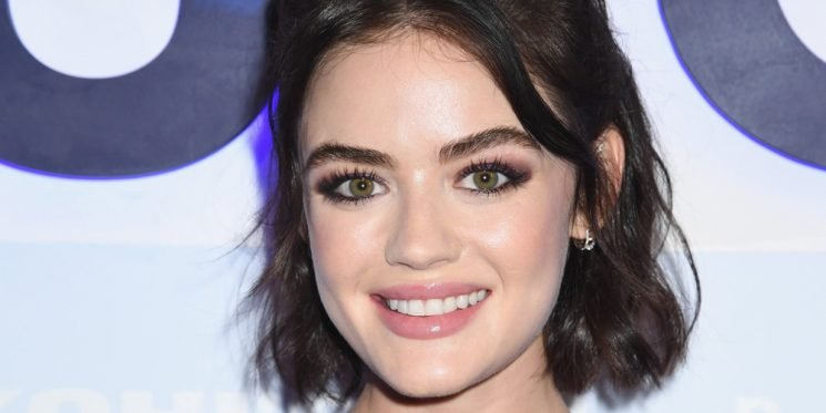 Lucy Hale Steps Out For Fashion Launch Event in New York City