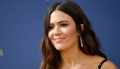 'This Is Us' Star Mandy Moore Wears Dream Dress To Emmys, Chronicles Exciting Night With NBC Family