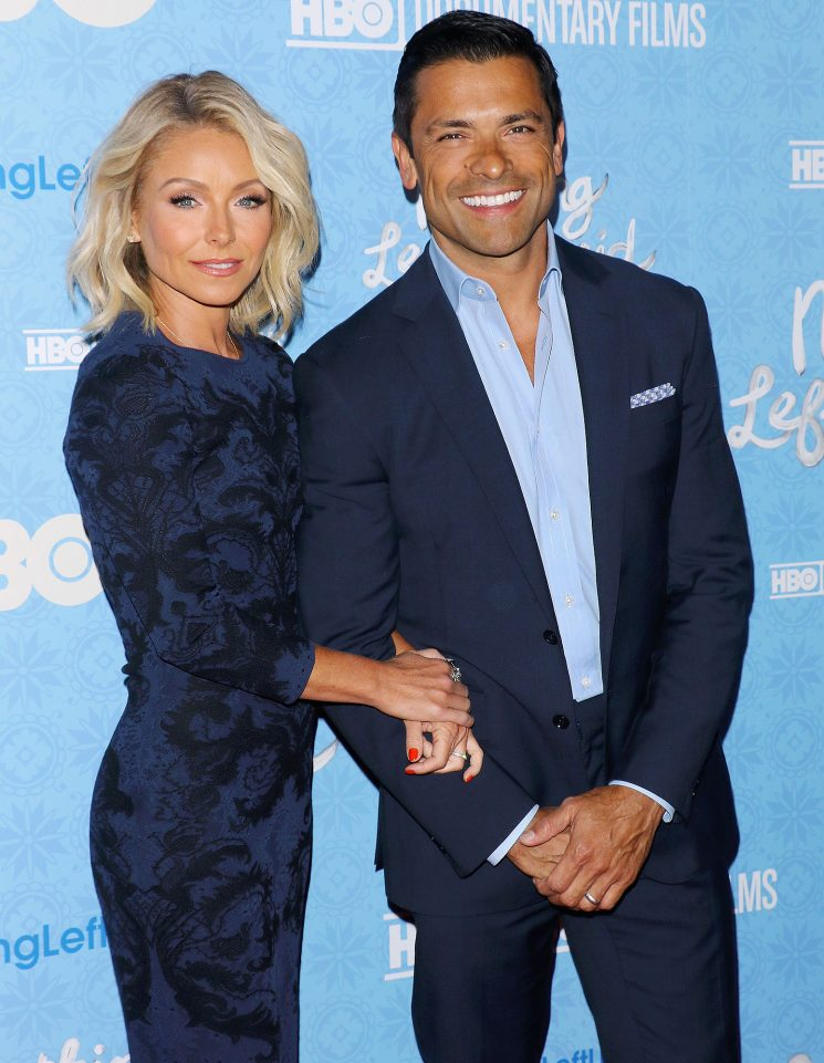 Kelly Ripa Fires Back at Troll Who Says She's 'Too Old' for Husband Mark Consuelos