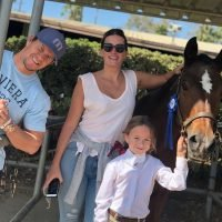 Mark Wahlberg's Daughter Takes First Place in a Horse Show: 'Congrats to My Baby Grace'