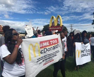 McDonald's Employees Are on Strike Over Sexual Harassment Claims