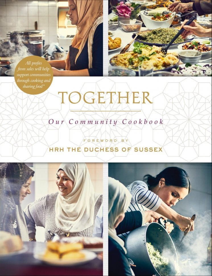 Duchess Meghan organized a cookbook which will fund a community kitchen