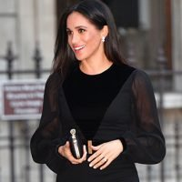Meghan Markle Shows Off Flat Stomach In Tight Dress Amidst Pregnancy Rumors