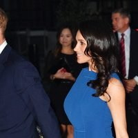 Meghan Markle Stuns In Midi Dress After Flaunting Legs In Mini Skirt At Theater