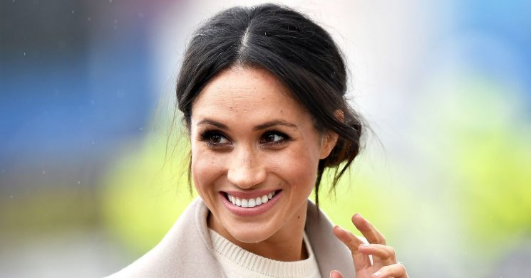 There Is a Theory That Meghan Markle's Straight Hair Means She's Pregnant