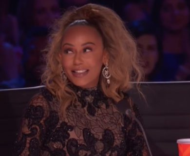 Mel B Stuns In Sexy Sheer Dress For 'America's Got Talent' Finale