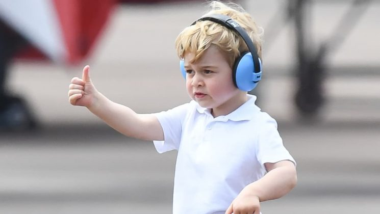 Princess Charlotte & Prince George Stole a Wedding Spotlight, Because Obviously
