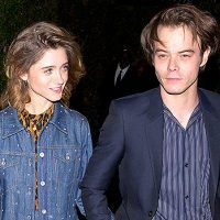 Natalia Dyer & Charlie Heaton Prove They're Going Strong By Holding Hands On Date