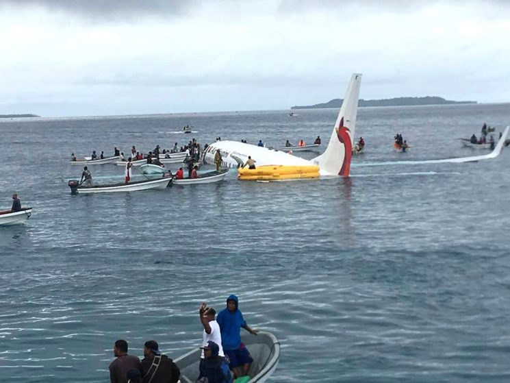 Boeing Flight Misses Runway and Crashes Into the Water — But All Passengers Survive
