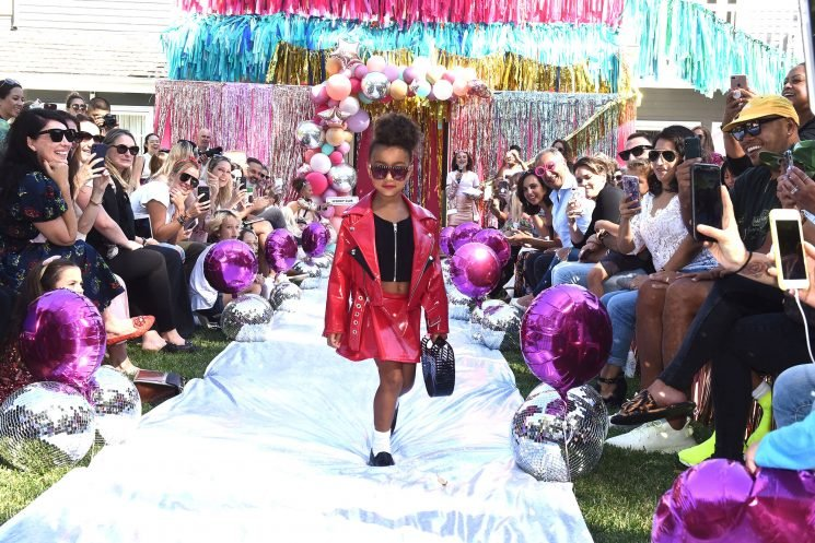 Fashionista! North West, 5, Makes Her Runway Debut as Proud Mom Kim Kardashian Cheers Her On