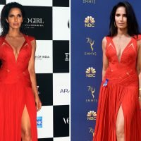 Padma Lakshmi recycles Emmys gown