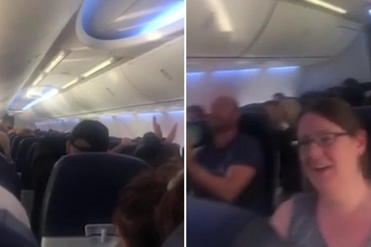 Passengers left vomiting and crying during severe turbulence on UK bound Ibiza flight as deadly Storm Ali batters Britain
