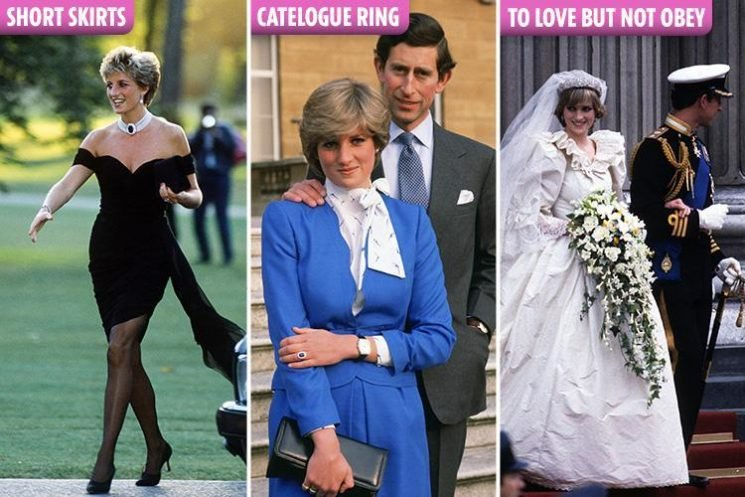 All the ways Princess Diana broke royal protocol, from picking her engagement ring from a catalogue to changing her wedding vows