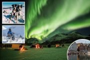 Chase the Northern Lights from the city of Tromso — Norway's gateway to the Arctic