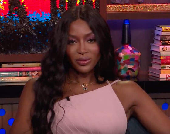 Only Naomi Campbell Can Destroy A Trick With One Look And Two Words