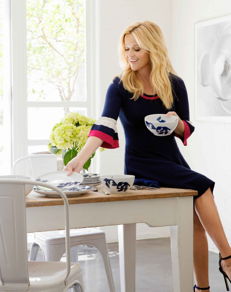 Reese Witherspoon's New Draper James x Crate & Barrel Collection Will Have You Leaving the 'Pretty Dishes' Out Year Round