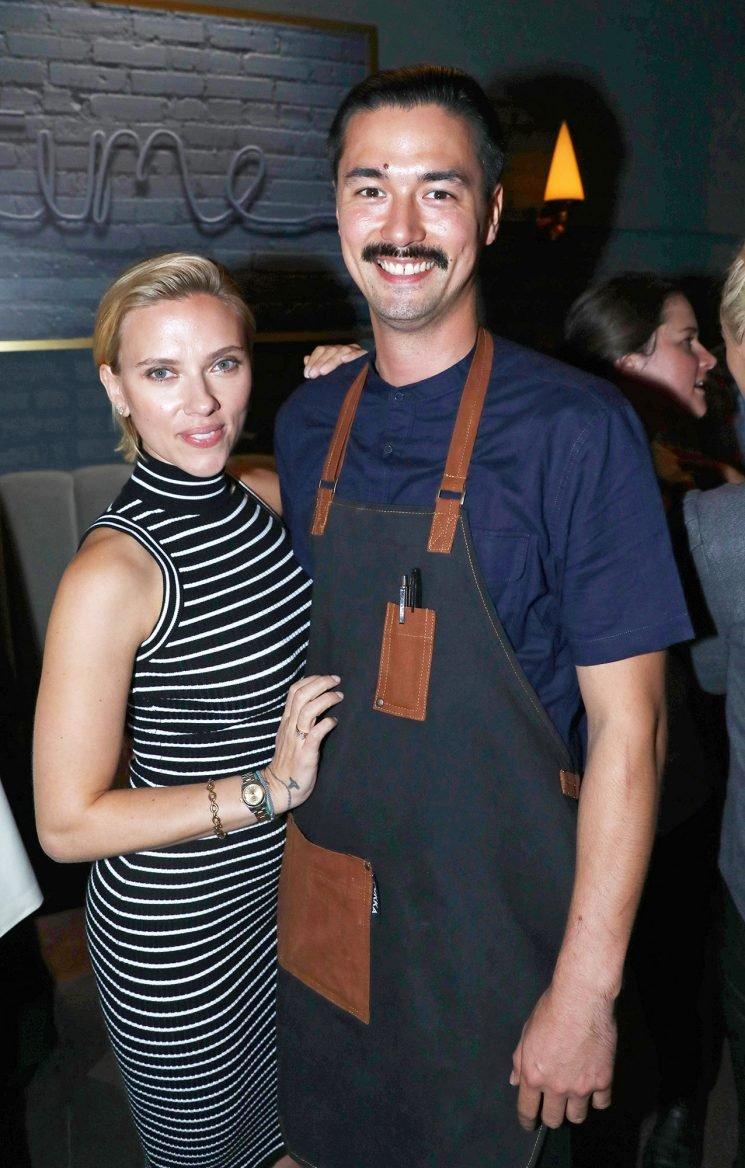 Scarlett Johansson Attends Star-Studded Opening for Director Joe Russo's New L.A. Restaurant