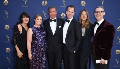 Emmys 2018: Executive Red Carpet Arrivals Photo Gallery