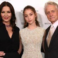 Michael Douglas & Catherine Zeta-Jones' Daughter on If They're Strict