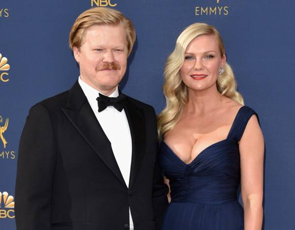 Kirsten Dunst Attends 1st Red Carpet Since Giving Birth at 2018 Emmys
