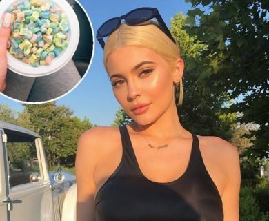 Kylie Jenner Just Tried Milk and Cereal for the First Time