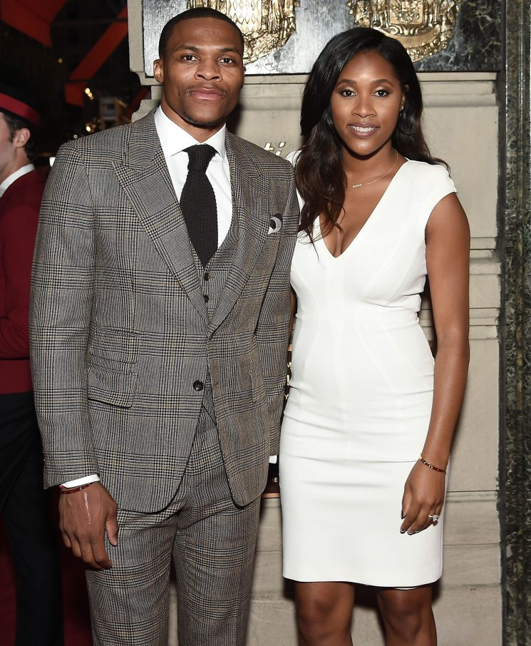 NBA Player Russell Westbrook and Wife Nina Announce They're Expecting Twin Girls