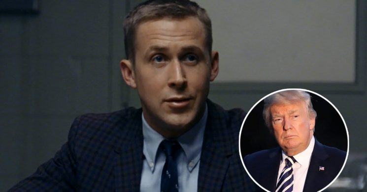 Trump Doesn't Want to Watch Ryan Gosling Movie 'First Man' Because There's Not Enough American Flag