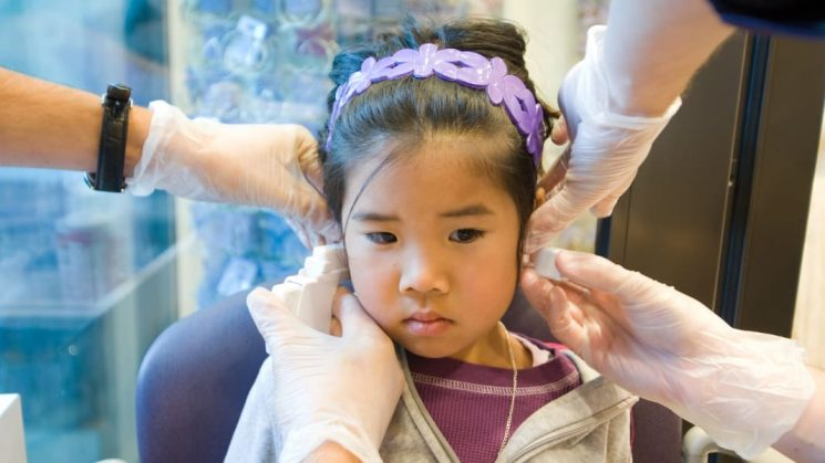 This Girl Was Hospitalized After Getting Her Ears Pierced, & Parents Are Freaked
