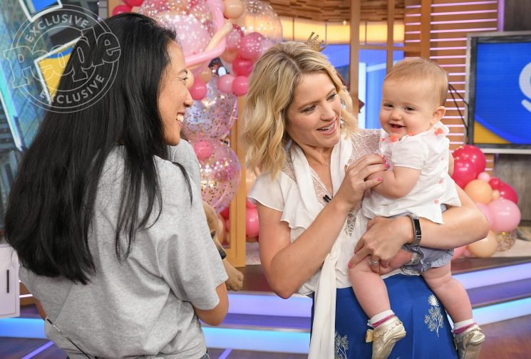 GMA Day's Sara Haines Surprised On-Air by Husband and Kids for Her 41st Birthday — See BTS Photos!