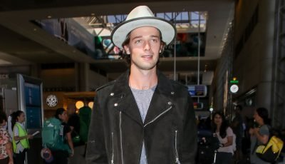 Patrick Schwarzenegger Flies to Milan With Abby Champion After His Birthday