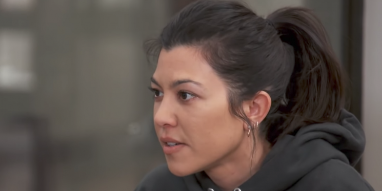 Kourtney Kardashian Calls Out Kris Jenner for Having an Affair in New 'KUWTK' Clip