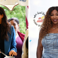 Meghan Markle Is Reportedly Keeping Her Friends Circle Small, But It Looks Like Serena Williams Made The Cut