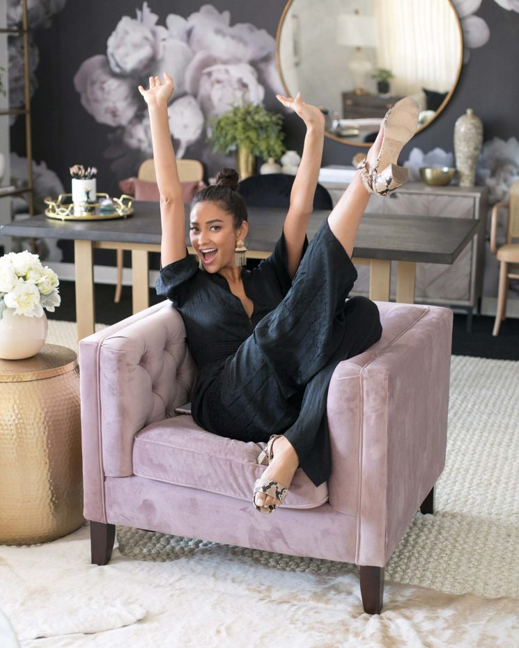 Pretty Little Lair! Inside Shay Mitchell's 'Chic and Professional' Office Makeover