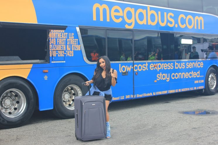 Nicole 'Snooki' Polizzi Drives a Megabus in Hilarious Safety Video: 'It Was Scary!'