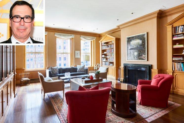 U.S. Treasury Secretary Steven Mnuchin Lists $32 Million Park Avenue Apartment