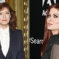 Susan Sarandon & Debra Messing At War Over 'Good Side' Of Trump: Fans Take Side In Actresses' Feud