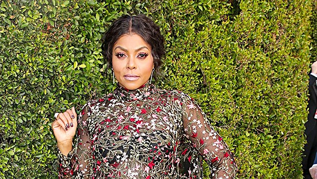 Taraji P. Henson's Fierce In A Floral Gown On The 2018 Emmys Red Carpet — Pics