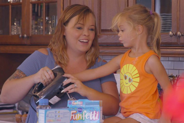 WATCH: Pregnant Teen Mom OG's Catelynn Baltierra Shares Baby News with Daughter Nova — 'Mommy Has a Baby in Her Belly'