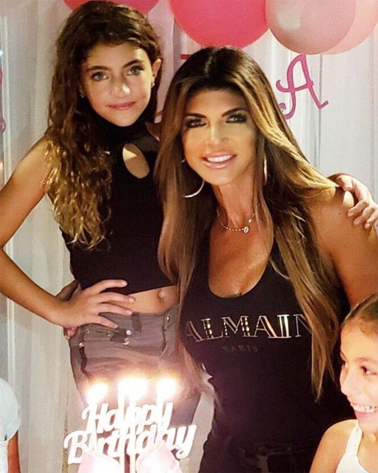 Teresa Giudice Receives Backlash After Sharing Photos of Daughter, 9, in Makeup and a Crop Top