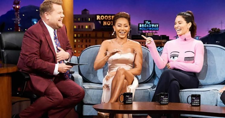 Mel B Gives Hope for a Full Spice Girls Reunion During Upcoming Tour on 'The Late Late Show'