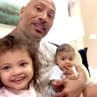 Dwayne Johnson Sings Girlfriend Lauren 'Happy Birthday' with the Help of His Adorable Daughters